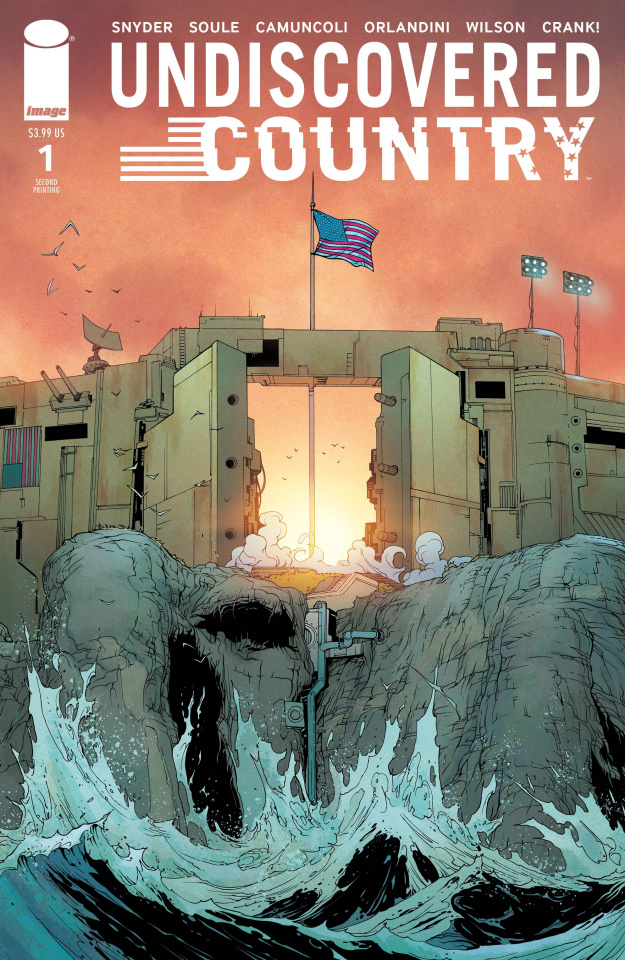 Undiscovered Country #1 (2nd Printing)