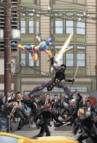 Ninjak vs. The Valiant Universe #1 (20 Copy Portela Cover)
