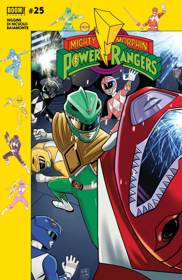 Mighty Morphin' Power Rangers #25 (Subscription Gibson Cover)