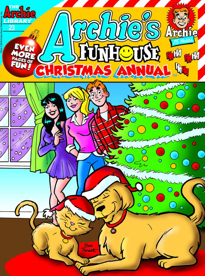 Archie's Funhouse Comics Christmas Annual Digest #23