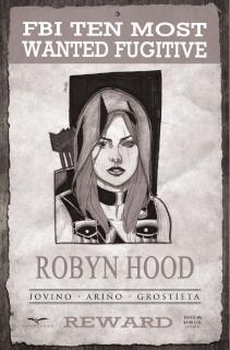 Grimm Fairy Tales: Robyn Hood - I Love NY #6 (Arino Cover)