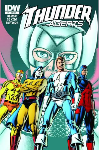 T.H.U.N.D.E.R. Agents #1 (Subscription Cover)