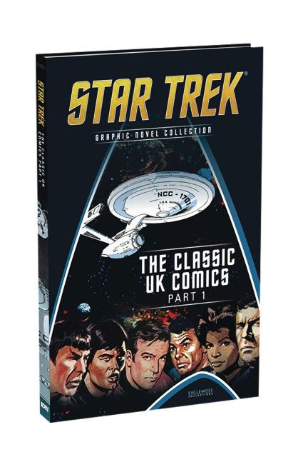Star Trek: Graphic Novel Collection #10: The Classic UK Comics, Part 1
