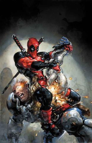 The Despicable Deadpool #287 (Crain Promo Cover)