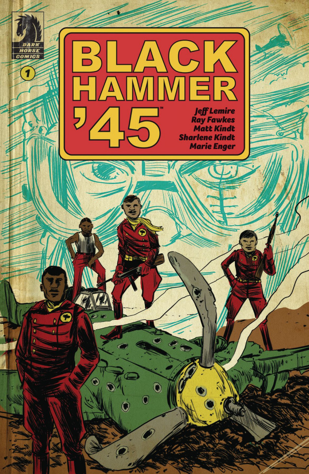 Black Hammer '45: From the World of Black Hammer #1 (Kindt Cover)