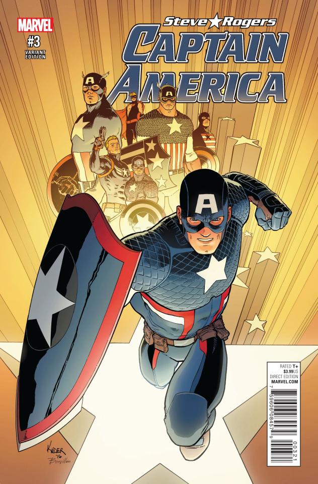 Captain America: Steve Rogers #3 (Kuder Cover)