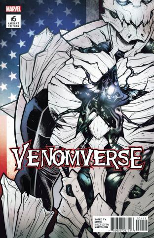 Venomverse #5 (Torque Poison Cover)