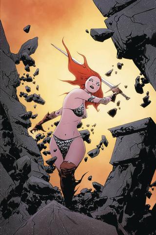 Red Sonja #17 (Lee Virgin Cover)