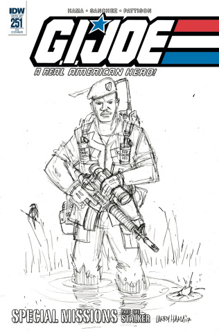 G.I. Joe: A Real American Hero #251 (10 Copy Cover)