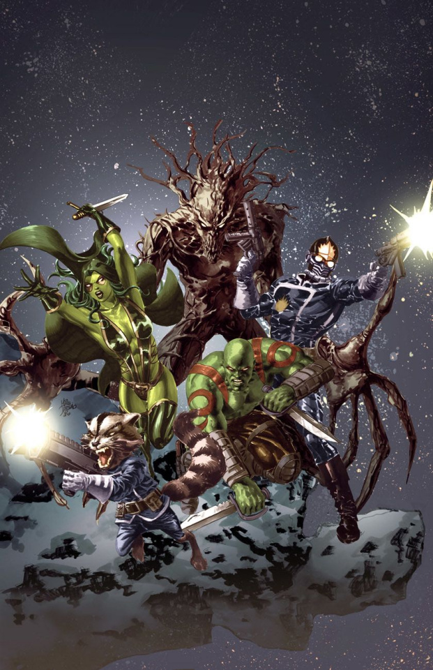 Guardians of the Galaxy #1 (Deodato Party Cover)