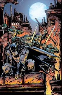 Batman / Teenage Mutant Ninja Turtles #2 (Variant Cover)
