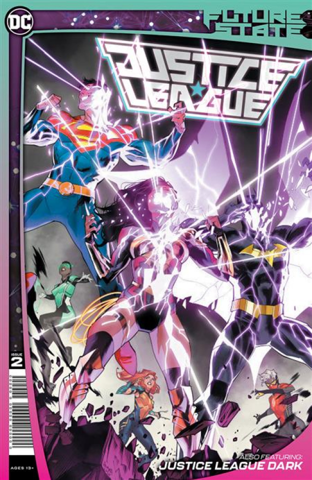 Future State: Justice League #2 (Dan Mora Cover)