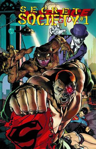 Justice League #23.4: Secret Society Standard Edition