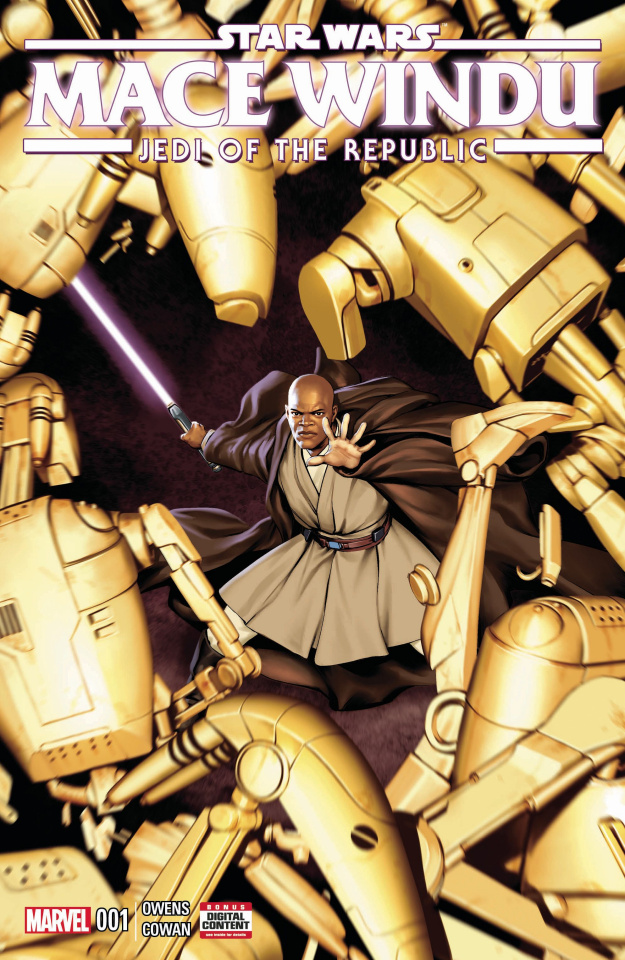 Star Wars: Mace Windu, Jedi of the Republic #1