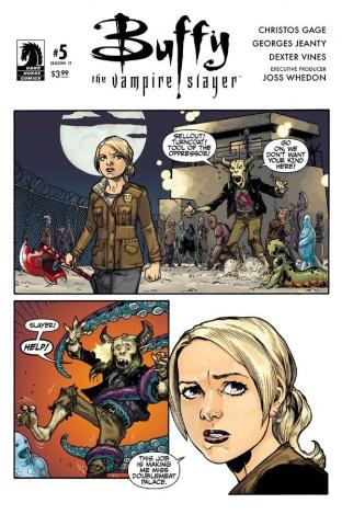 Buffy the Vampire Slayer, Season 11 #5 (Jeanty Cover)