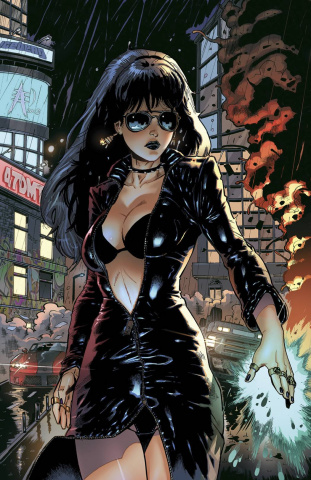 Grimm Fairy Tales: Code Red #4 (Errico Cover)