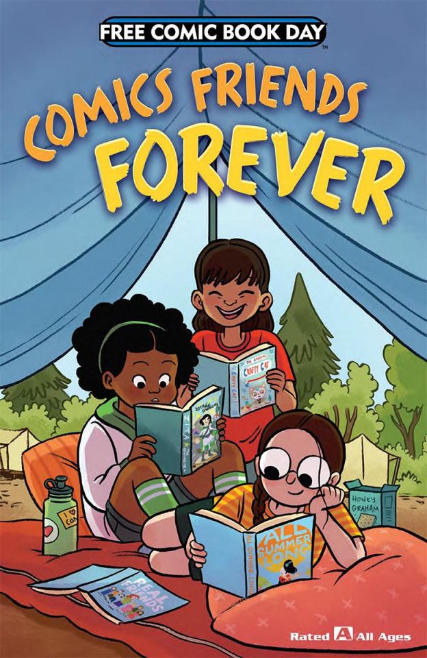 Comics Friends Forever FCBD 2018 Special