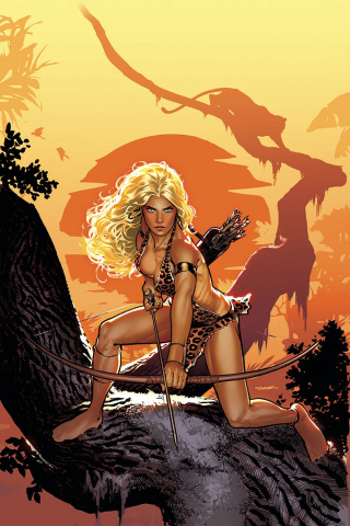 Sheena #1 (40 Copy Sook Virgin Cover)