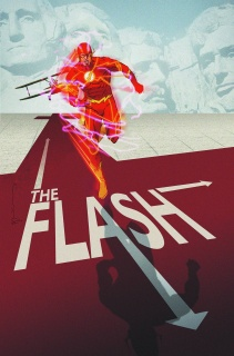 The Flash #40 (Movie Poster Cover)