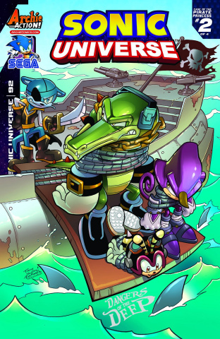 Sonic Universe #92 (Yardley Cover)