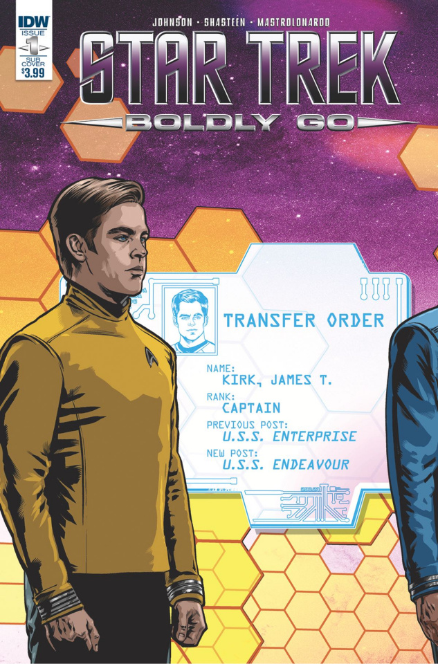 Star Trek: Boldly Go #1 (Subscription Cover)