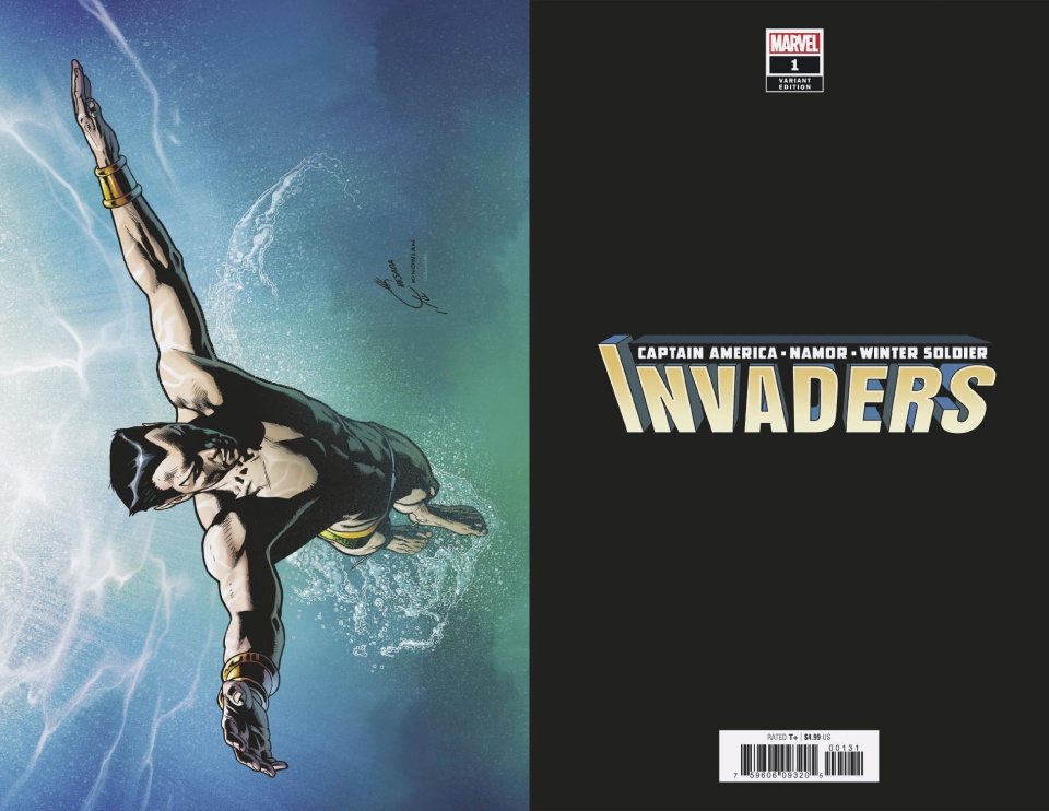 Invaders #1 (Quesada Virgin Cover)