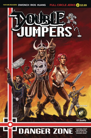 Double Jumpers: Full Circle Jerks #2 (Logan Cover)