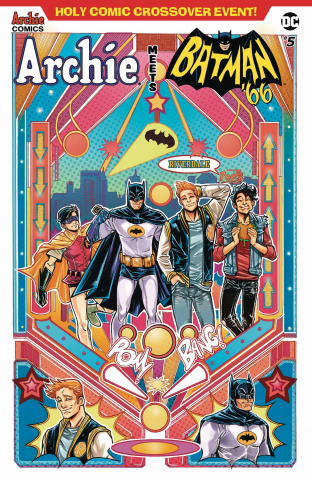 Archie Meets Batman '66 #5 (Braga Cover)