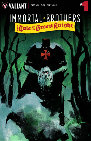 Immortal Brothers: The Tale of the Green Knight #1 (Nord Cover)