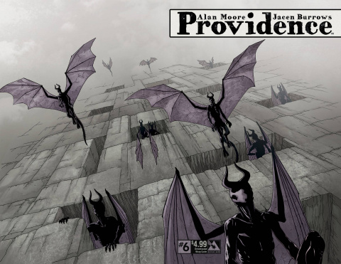 Providence #6 (Dreamscape Wrap Cover)