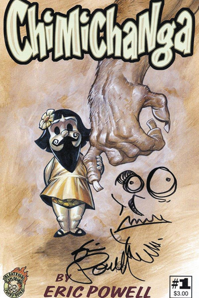 Chimichanga #1 (Signed & Resketched Edition)
