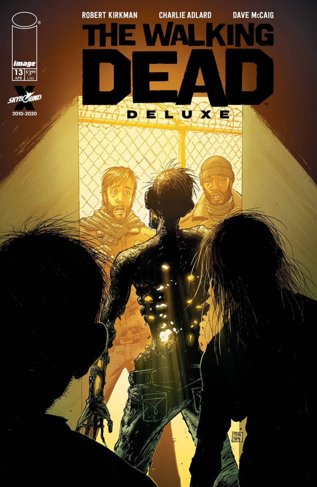 The Walking Dead Deluxe #13 (Moore & McCaig Cover)