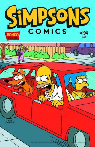 Simpsons Comics #194