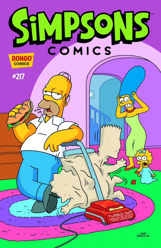 Simpsons Comics #217
