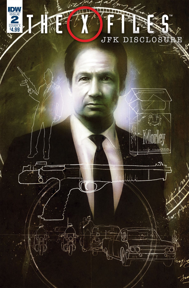 The X-Files: JFK Disclosure #2 (Menton3 Cover)