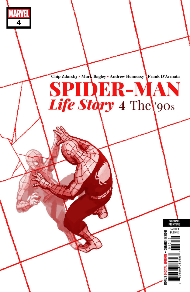 Spider-Man: Life Story #4 (Bagley 2nd Printing)