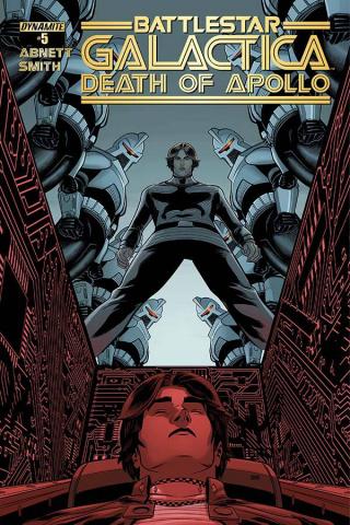 Battlestar Galactica: Death of Apollo #5 (Smith Cover)