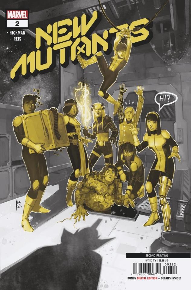 New Mutants #2 (2nd Printing)