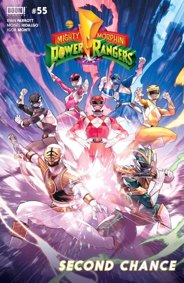 Mighty Morphin' Power Rangers #55