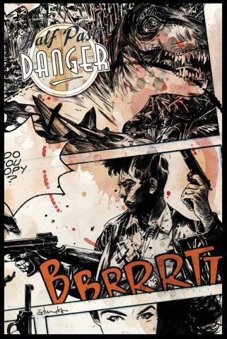 Half Past Danger #1 (Subscription Cover)