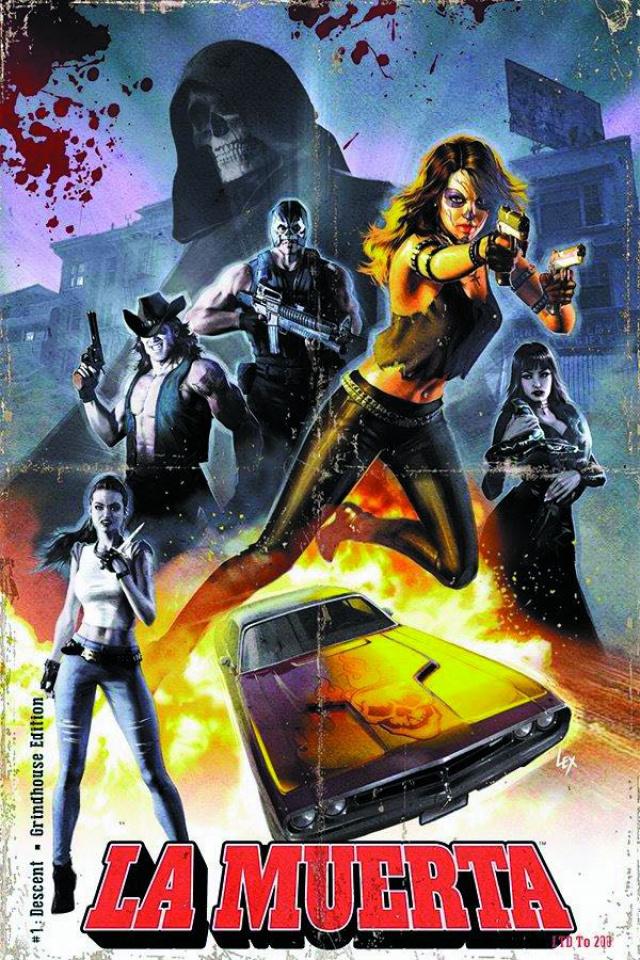 La Muerta: Descent #1 (Grindhouse Limited Cover)