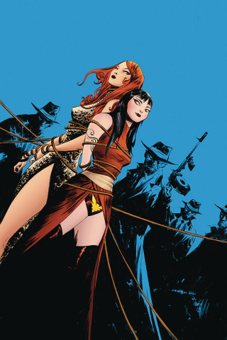 Vampirella / Red Sonja #7 (Lee Virgin Cover)