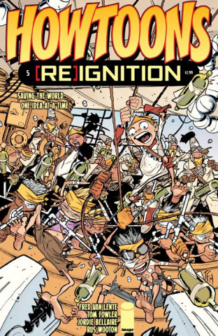 Howtoons: [Re]ignition #5