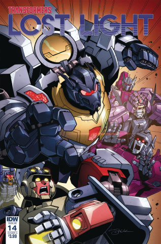 The Transformers: Lost Light #14 (Lawrence Cover)