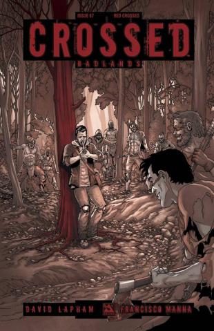 Crossed: Badlands #67 (Red Crossed Cover)