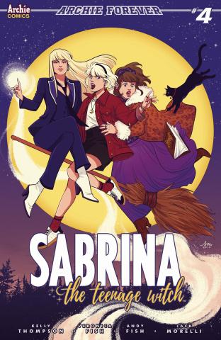 Sabrina, The Teenage Witch #4 (Mok Cover)