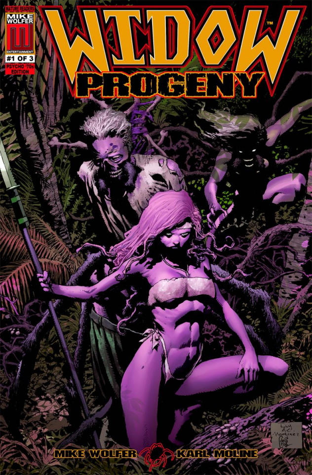 Widow: Progeny #1 (Psycho '70s 5 Copy Cover Pack)