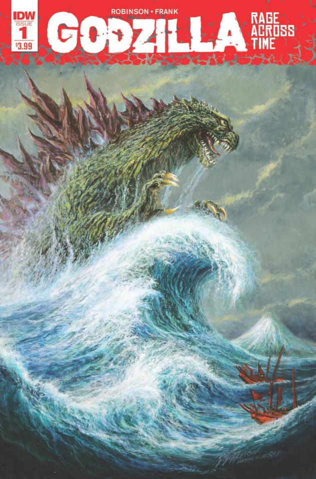 Godzilla: Rage Across Time #1 (2nd Printing)