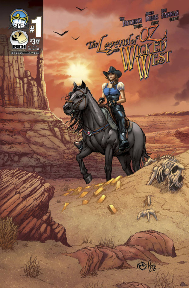 The Legend of Oz: The Wicked West #1 (Direct Market Cover B)