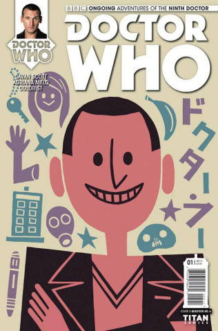 Doctor Who: New Adventures with the Ninth Doctor #1 (Question 6 Cover)